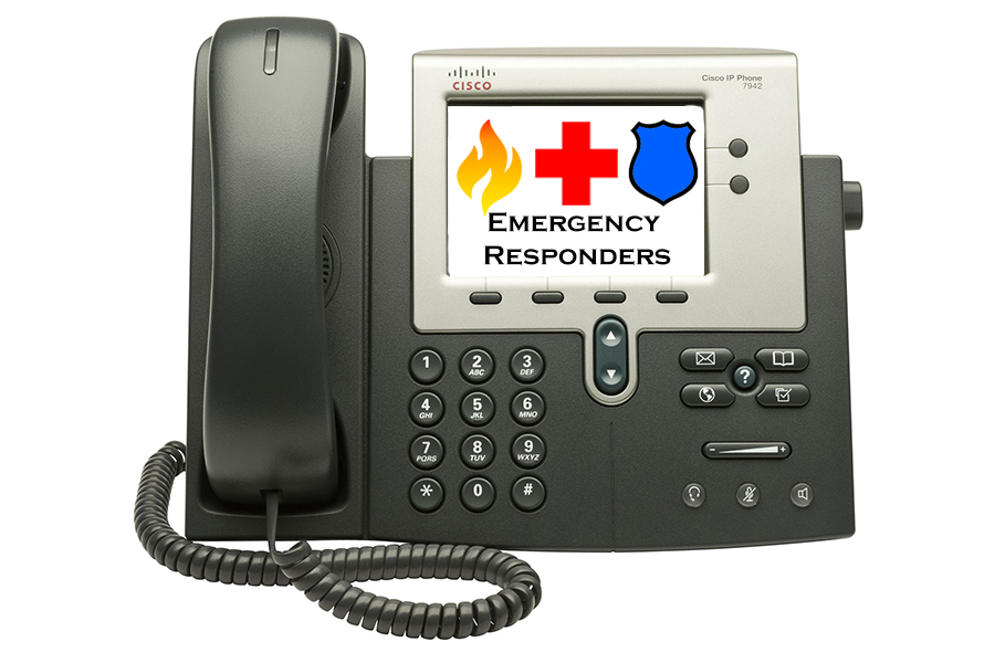cisco phone with EMS display