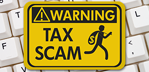 warning: tax scams