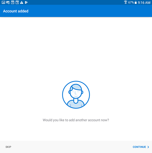how to get student email on android