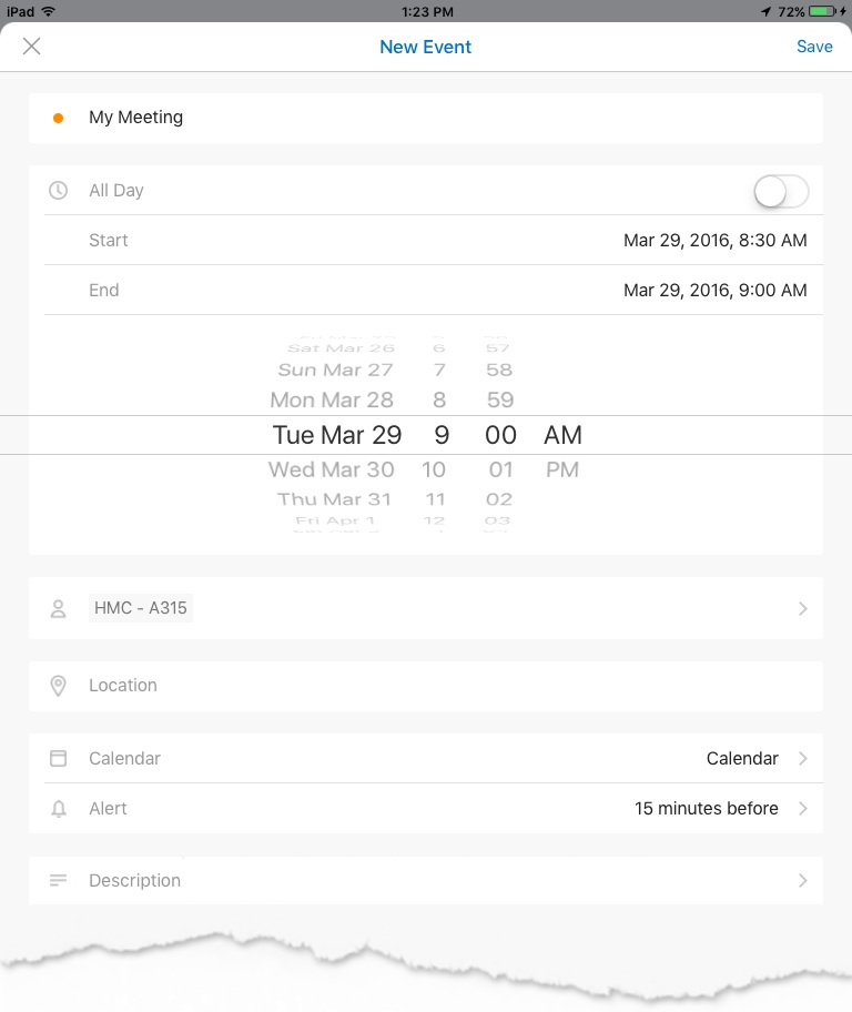 Employee Email and Calendar - How to Add Room Resources with the