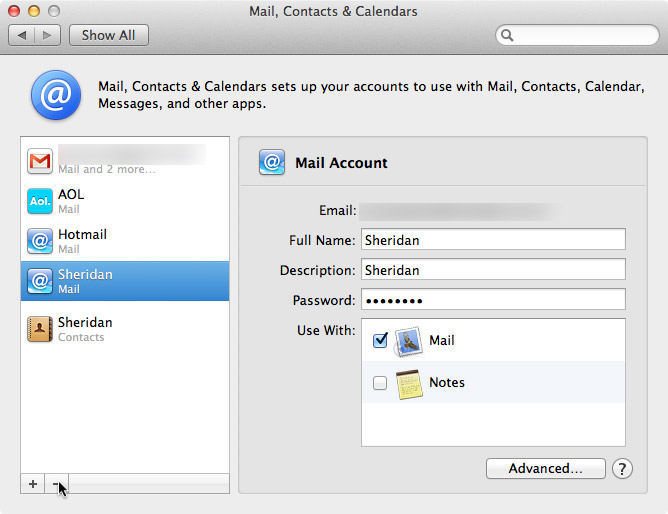 how to delete your microsoft account on mac