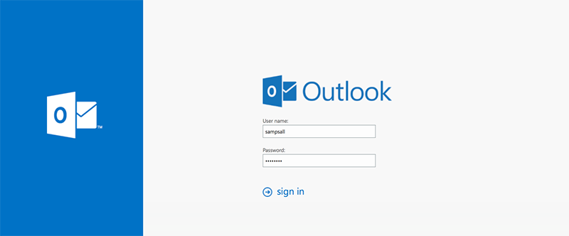 Employee Email and Calendar -Accessing the Outlook Web App