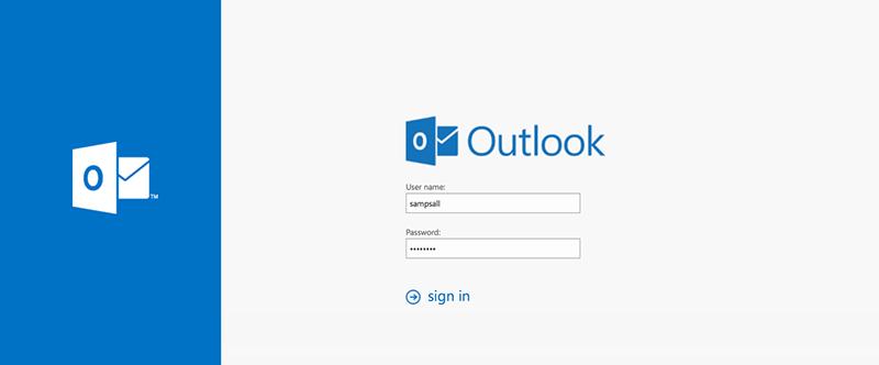 Webmail Outlook