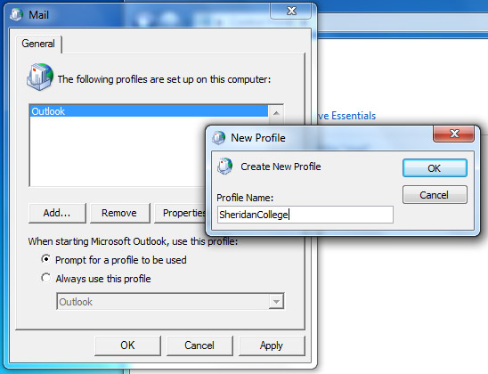 Employee Email And Calendar: Configuring Outlook 2010
