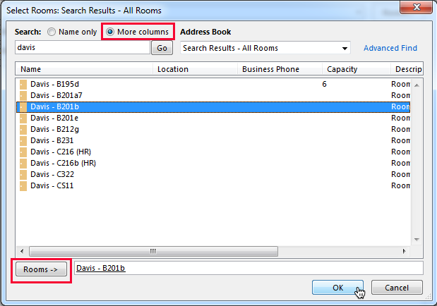how to add search fields in outlook 2013