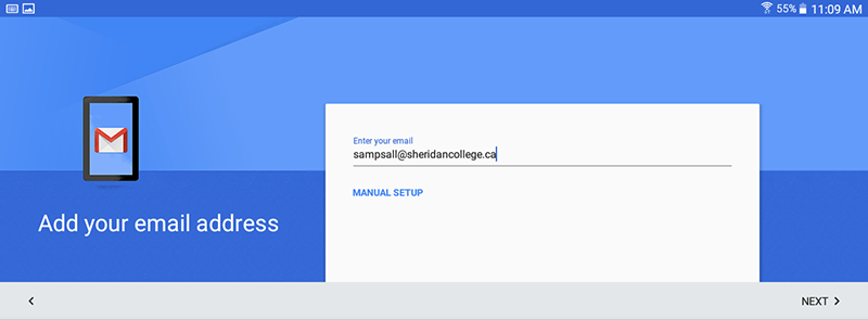 how to change email address in gmail app
