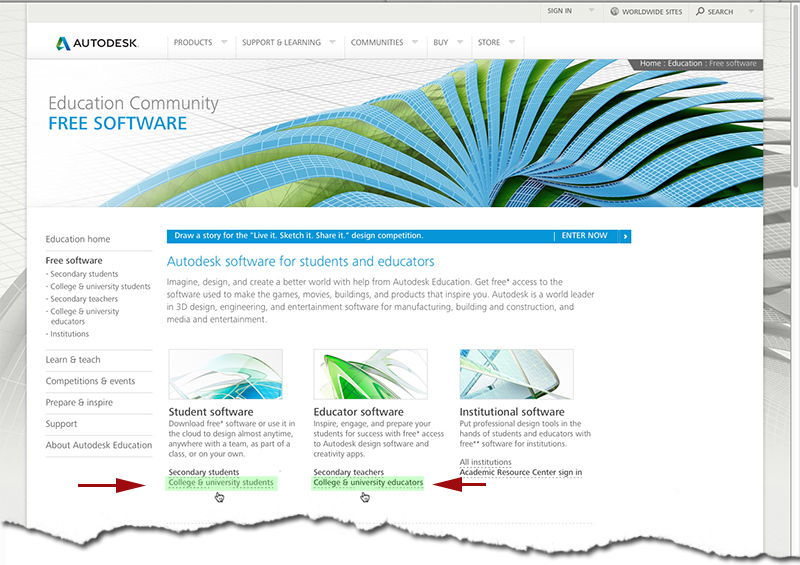 Software: AutoDesk