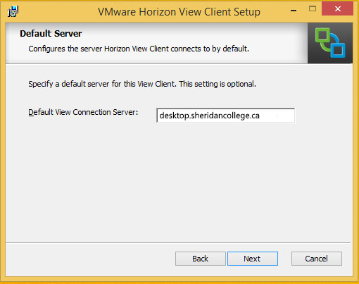 The Self Help Desk - Installing the VM Horizon View Client for Windows