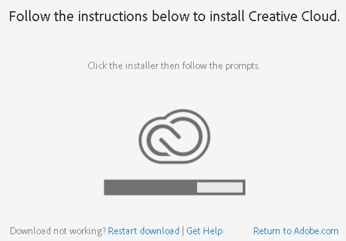 Software: Adobe Creative Cloud